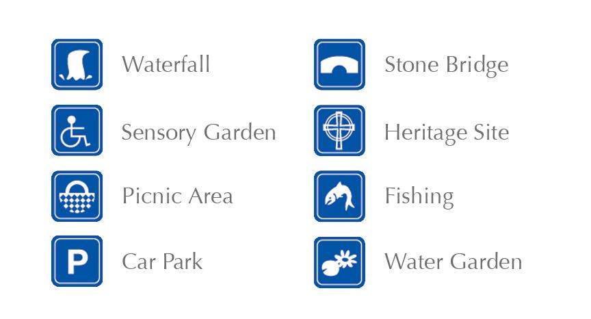 Gleninchaquin Park Map Info
