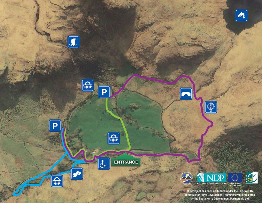 Gleninchaquin Park Map